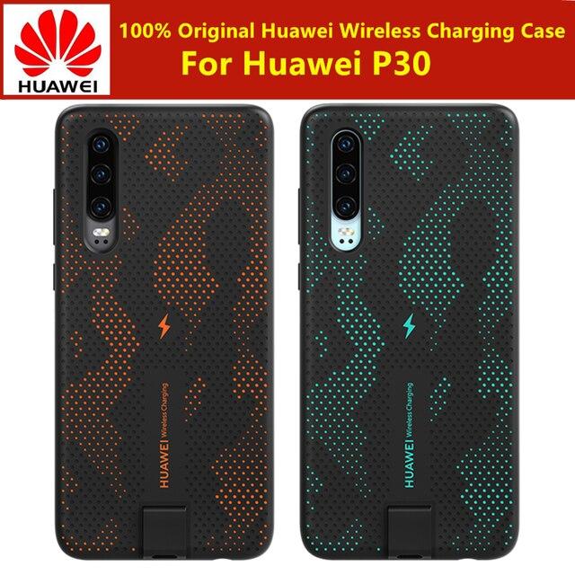 100% オリジナルの huawei P30 ワイヤレス充電ケース 10 ワット tuv & チー認定ワイヤレス huawei 社 P30 急速充電ケースカバー
