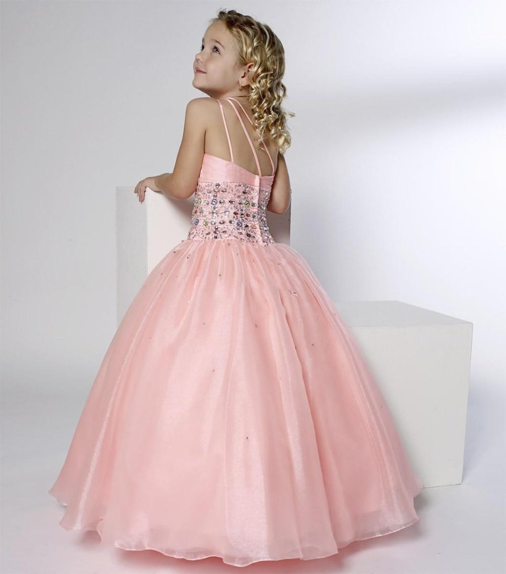 Nuevo 2015 flor niñas vestidos del desfile Quinceanera del vestido ...