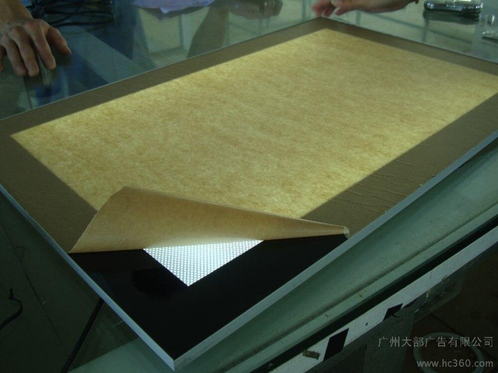 alumínio caixa de luz magnética levou placa de exposição