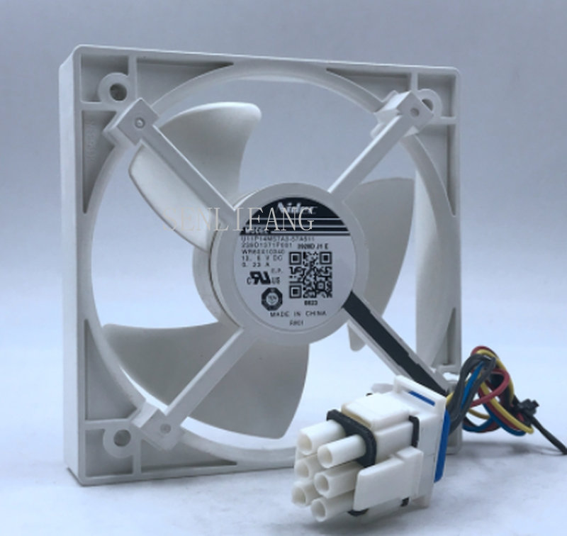 For 239D1371P001 High Quality Refrigerator Cooling Fan U11P14MS7A3 For Nidec U11P14MS7A3-57A611 DC 13.6V 0.23A One Year Warranty