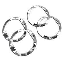 4 шт. для Chevrolet AVEO Выход Кондиционер abs декоративное кольцо