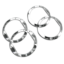 4pcs for Chevrolet AVEO outlet Air conditioning abs Decorative ring free shipping