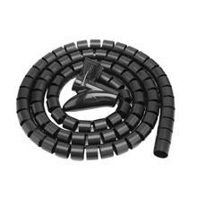 1,5 м кабель отрезной линии трубы с линии управления резьбой зажим фиксированной линии Кабельные стяжки Зажим для ремня шнур протектор Kabelhaspel
