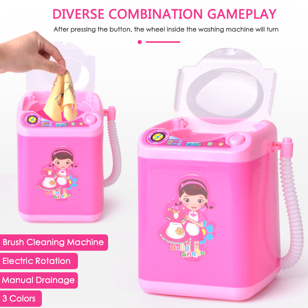 Mini Electric Makeup Brush Cleaner Washing Machine ...