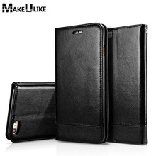hot deal buy adorption flip cover wallet case for apple iphone 5 5s se/ 6 6s / 6 plus / 6s plus luxury pu leather  phone bags cases