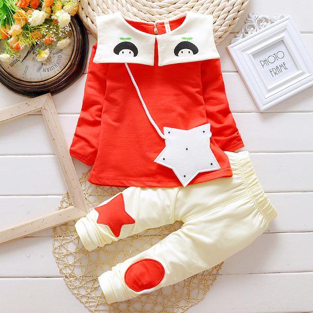 Bebé ropa de 2016 nueva primavera otoño invierno del bebé del algodón fija marca jackers abrigos bebé clothing envío gratis