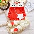 Conjuntos de inverno do bebê do algodão roupa do bebê 2016 nova primavera outono marca casacos jackers bebê clothing frete grátis