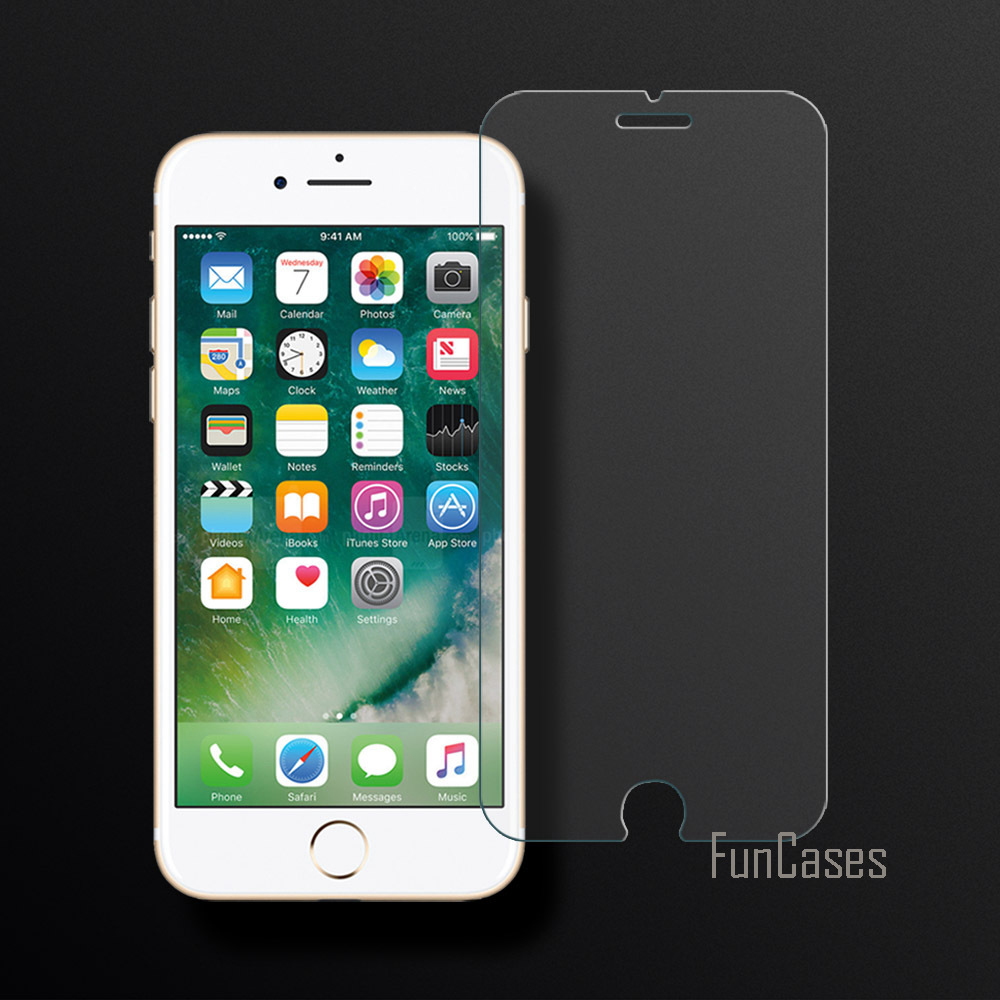 New Tempered Glass For iPhone 7 8 Screen Protector Film For Apple iPhone 7 8 2.5D Curved Edge Screen Anti-Scratch For iPhone 7 8 image