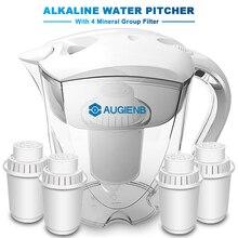 Кувшин для щелочной воды ионизатор долговечные фильтры-фильтр для воды очиститель система фильтрации-Высокий pH щелочной-3.5L