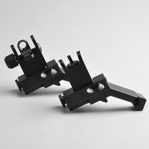 Image 3 - US 45 Degree Off Front Rear Set Flip Up Back Up Side Iron Sight Fit 20mm Rail