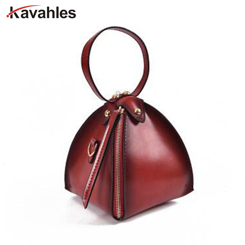Fashion Women Bag Triangle Lantern Solid Mini Handbag Messenger Corossbody Shoulder Bag For ladies Female Bolsa Feminina PP-1193 drop shoulder lantern sleeve solid tee