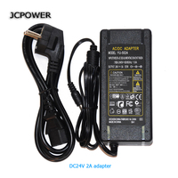 JCpowe 24v 5A 120W Witching Power Supply LED Voltage Transformer Power Supply 24v5a Power Adapter With