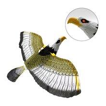 Забавные игрушки большой электронный питомец подвесной провод электрический попугай с светодиодный свет музыка глаз светящиеся игрушки птицы Дети Развивающие игрушки подарки