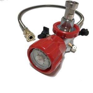 Image 5 - Клапан высокого давления AC911 для пневматической винтовки PCP, для пейнтбола, красного цвета, для резервуара из углеродного волокна, для стрельбы, PCP цилиндр Acecare