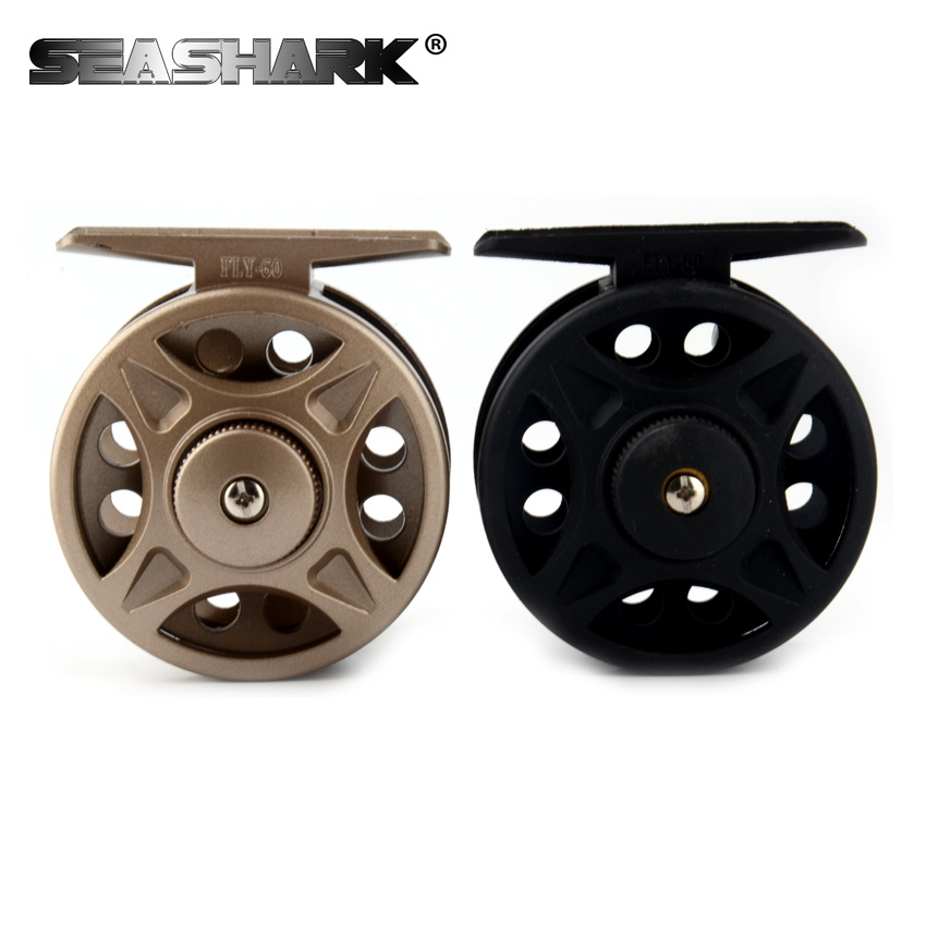 SEASHARK Fish Reel Left/Right Interchangeable Peche Fishing Accesso3BB Fly Reel Former Rafting Ice Fishing Wheel