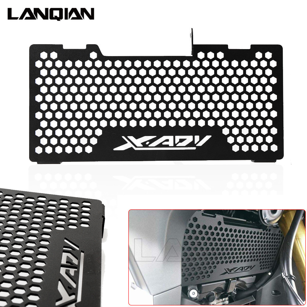 Motorcycle Radiator Guard Grille Cover Stainless Steel Cooler Protector For Honda X-ADV 750 2017 2018 XADV Accessories for honda cb400 vtec 1999 2012 radiator grille guard cover protector