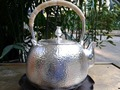 Soften Water Sterling Silver Kettle 1.4L Manual Whistling Water Kettles 930G With Gift Box