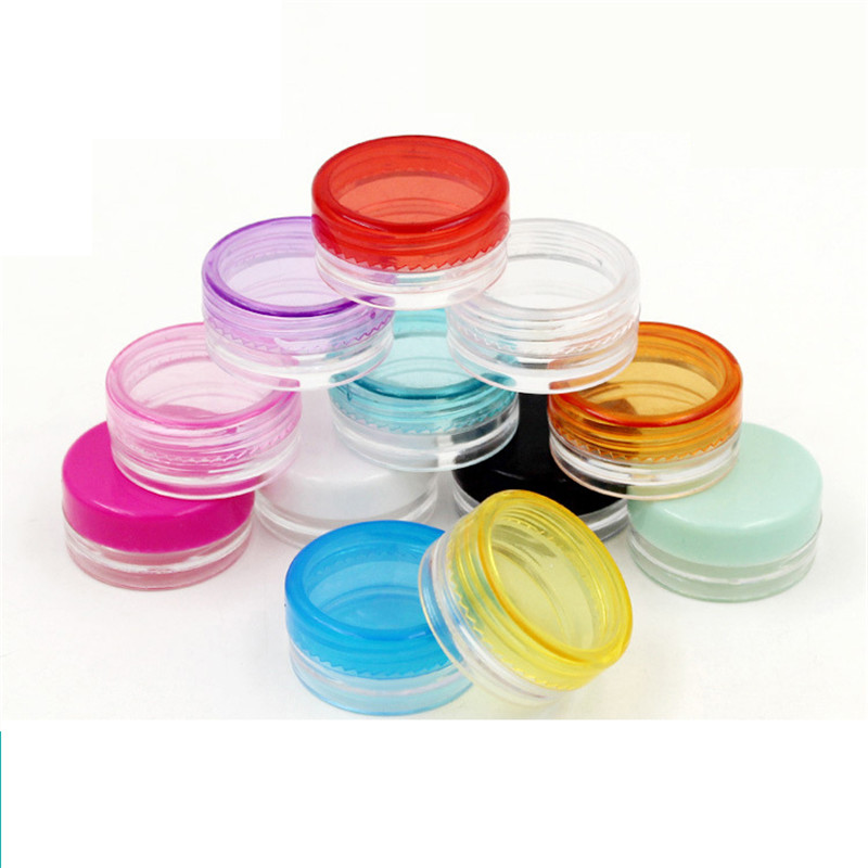 1000pcs 5g plastic cream jar Empty Cosmetic Jar Refillable Bottles Plastic Eyeshadow Makeup Face Cream Pot cosmetic Container 3g1000pcs 5g plastic cream jar Empty Cosmetic Jar Refillable Bottles Plastic Eyeshadow Makeup Face Cream Pot cosmetic Container 3g
