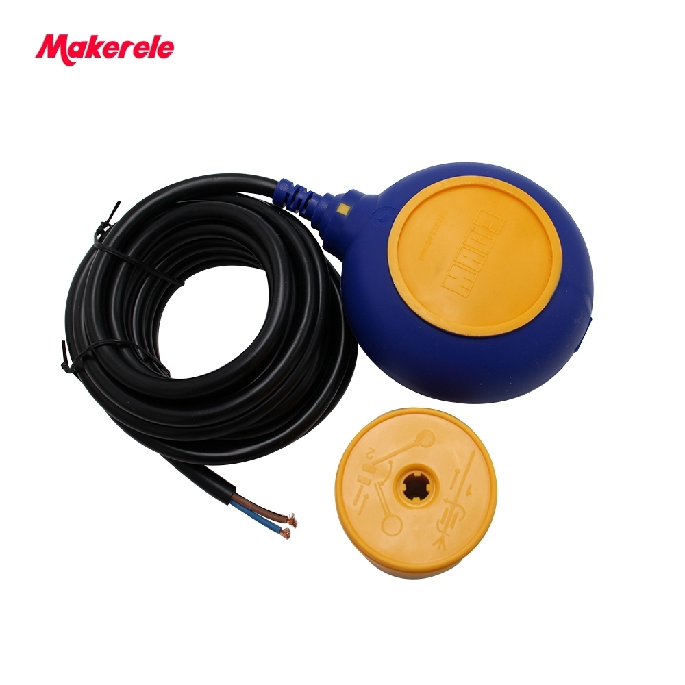 Offre spéciale chine câble réservoir d'eau niveau flotteur interrupteur MK-CFS03 4 mètres AC 250 V flotteur interrupteur câble fluide niveau contrôleur - 5