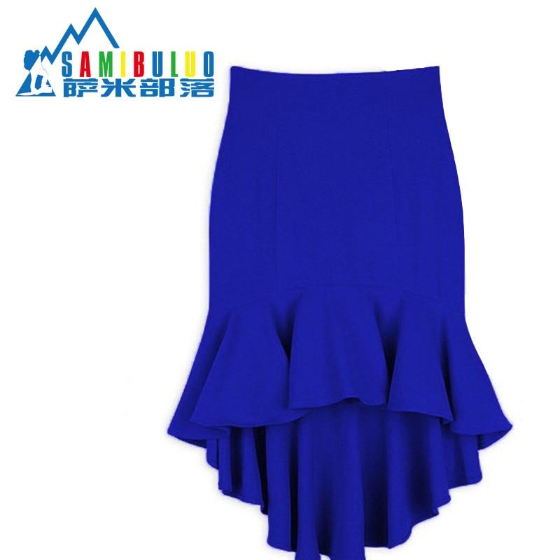 Короткие юбки с хвостом