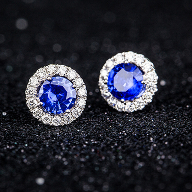 b amazing ring loose cushion real cut jewelry halo color index blue sapphire