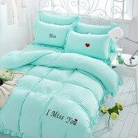 ZHH Yatak Seti Süper Kral Nevresim Seti 4 adet yatak Örtüsü Çarşaf Çocuklar Yatak Seti Kız Nevresim Düz Levha 230*250 cm