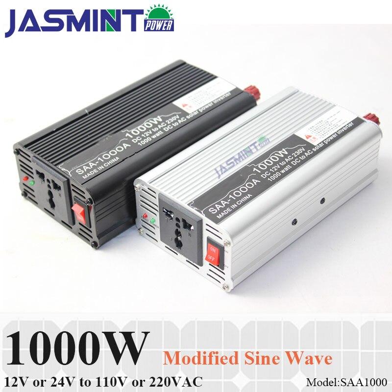 1000W car inverter 12v 220v pv inverter for solar system household appliances