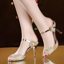 2016 new fish mouth high-heeled sandals women's summer diamond fashion women's shoes slides