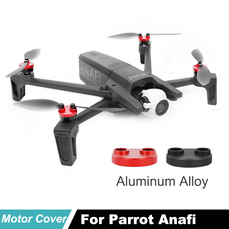 Aluminum Alloy Protection Parrot Anafi Motor Cover Dustproof Waterproof Covers for Parrot Anafi Drone accessories in Prop Protector from Consumer Electronics