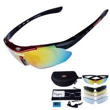 36199e68e3 Profissional Polarized Óculos Ciclismo Bicicleta Goggles Esportes Ao Ar  Livre Bicicleta Óculos De Sol Com Lente