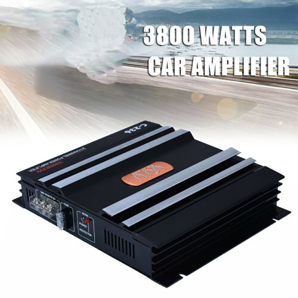 Electronics Accessories Subwoofer High Power Automobiles Audio Sound Music 2 Channel Car Amplifier Vehicle Stereo Low