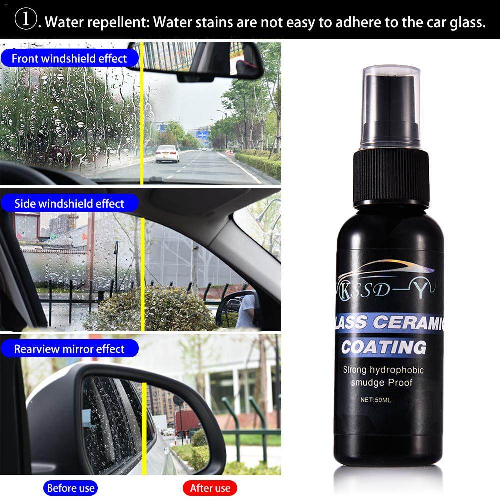 Auto Car Glass Coating Agent Repellent Agent Car Front Windshield Anti-Rain Agent Rear-View Mirror Repellent Agent