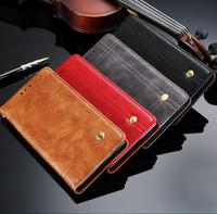 PU Leather Case For Song XA1 Luxury Retro Oil Wax Coque Phone Bags With Card Slots
