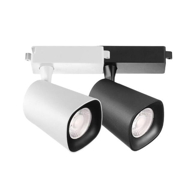 Spot Lumières W Pour Led Piste 30 Lumière Ac110v Magasin Éclairage 240v De Lampe Cob Vêtements Projecteurs Showroom 3AR5j4L