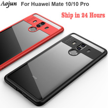 HUAWEI Mate 10 Pro Case Original Aojun Ultra Thin Shockproof Protective Back Cover For Huawei Mate 10 Mate 10 Pro Phone Shell