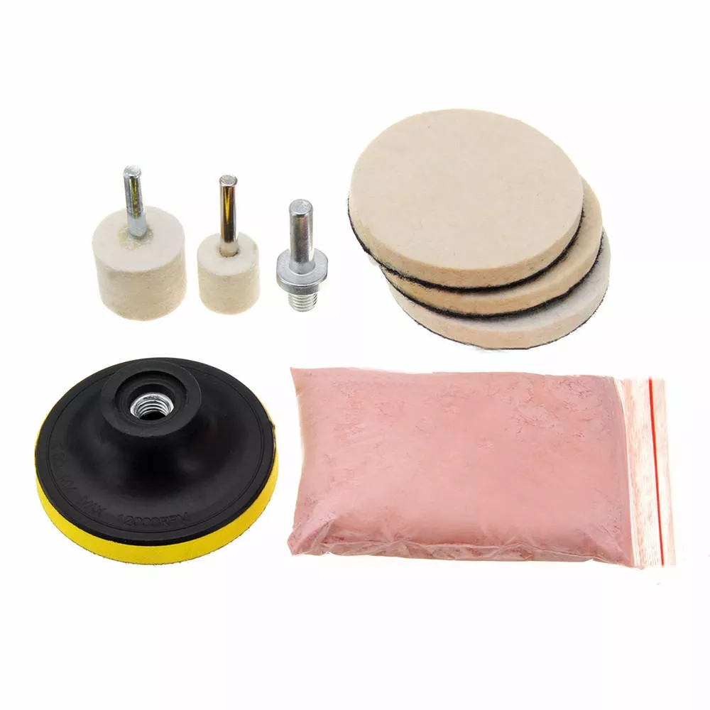 2019 Fashion 8pcs/set Universal Cerium Oxide Glass Polishing Powder Kit For Deep Scratch Remover 120g Auto Car Windows Scratch Remover Back To Search Resultshome