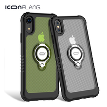 For iPhone XR XS Max Case Shockproof Ultra Thin Transparent Hard PC Magnetic Phone Cases For iPhone XS XR Cover Coque Funda