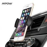 Mpow MCM9A универсальный cd слот Автомобиль Air Vent подставка держатель с весны держатель 360 градусов вращения для iPhone 7 и т. д. мобильных телефонов