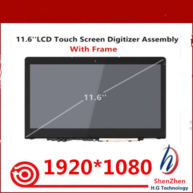 New For Lenovo Yoga 710-11 Yoga710-11 Yoga 710-11 11ISK LCD Touch Screen Digitizer Assembly with frame bezelNew For Lenovo Yoga 710-11 Yoga710-11 Yoga 710-11 11ISK LCD Touch Screen Digitizer Assembly with frame bezel