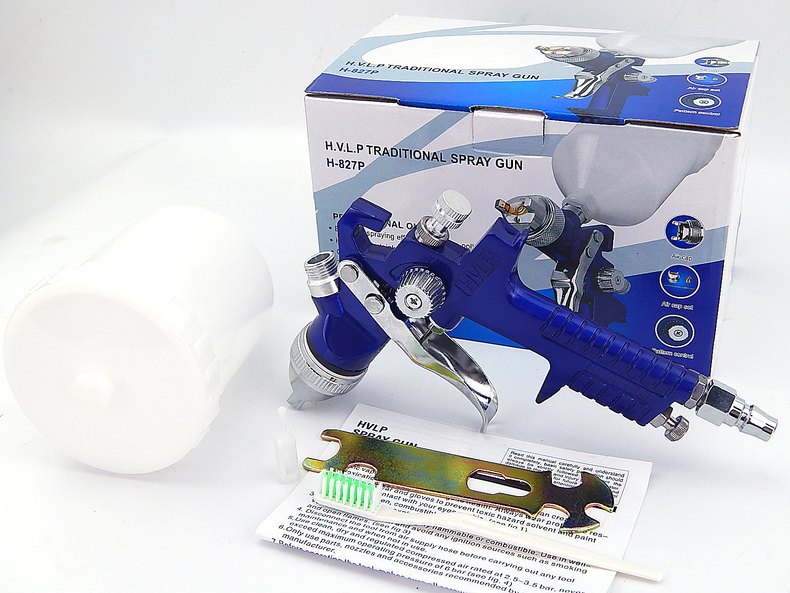 1PC Professional Air Spray Paint Gun Set Car Auto Painting Kit capacity 600ml 1.4mm Very good Atomization fujiwara electric spray gun latex paint sprayer paint spray gun paint painting tools pneumatic high atomization 2 5mm