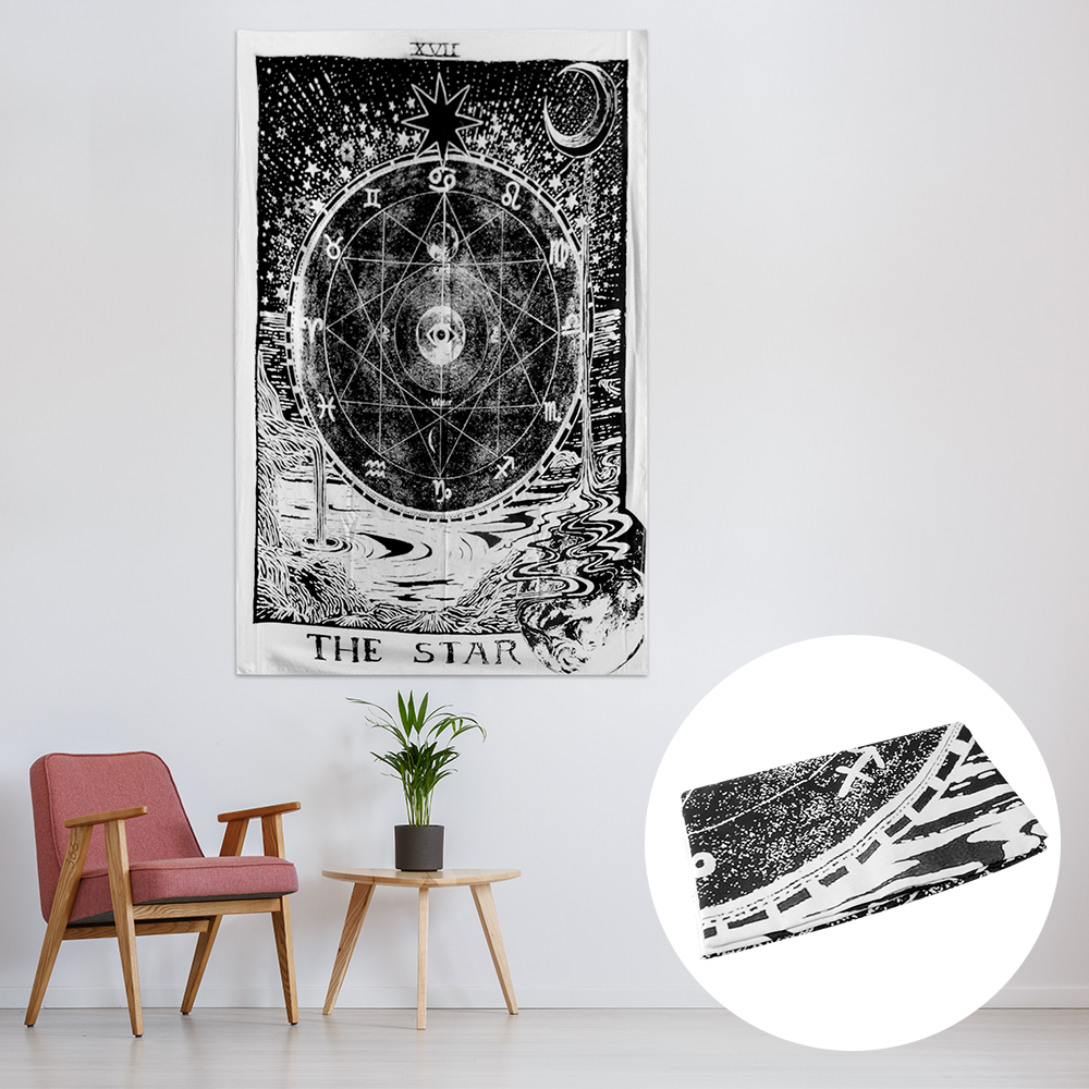 Retro Tapestry Wall Hanging Home Decorative Vintage