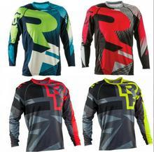 Wholesale MOTO NEW Downhill jersey motocross mtb dh Men DH MX Clothing MTB Shirt Mountain Bike Riding Top Long Jersey