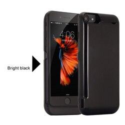 10000 mah caso carregador de bateria do telefone para o iphone 6s 7 8 ultra fino caso de carregamento de bateria power bank para iphone 6 p 6sp 7 p 8 plus