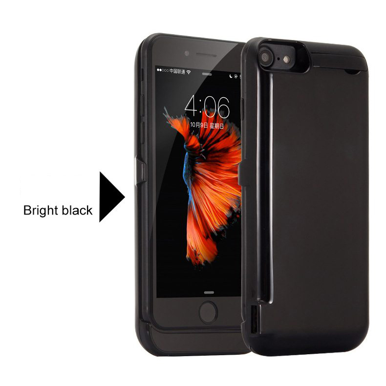 10000mAh Phone <font><b>Battery</b></font> Charger <font><b>Case</b></font> For <font><b>iPhone</b></font> <font><b>6</b></font> 6s 7 8 Ultra Thin <font><b>Battery</b></font> Charging <font><b>Case</b></font> Power Bank For <font><b>iPhone</b></font> 6P 6SP 7P 8 Plus image