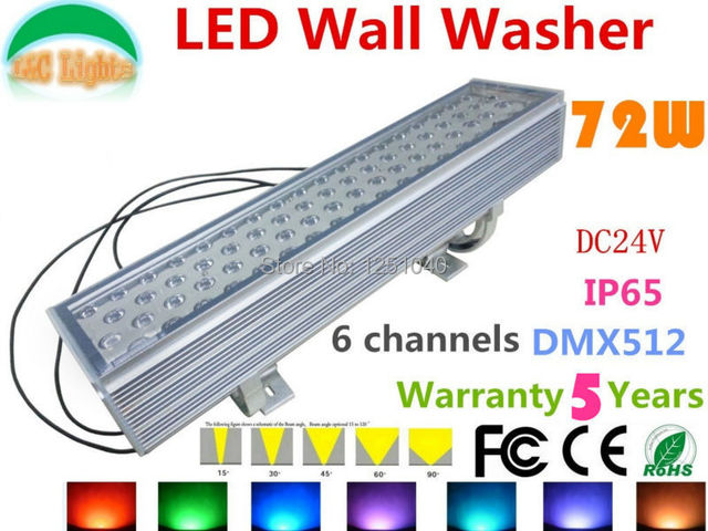 Dc24v 72w dmx512 rgb led wall washer outdoor spotlight change dc24v 72w dmx512 rgb led wall washer outdoor spotlight change color led floodlight ip65 waterproof buildings mozeypictures Choice Image