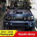 Использовать для Suzuki Jimny гоночные грили 2012--2018 год FRP материал Refitt передний центр гоночная решетка крышка аксессуары без логотипа автомобиля
