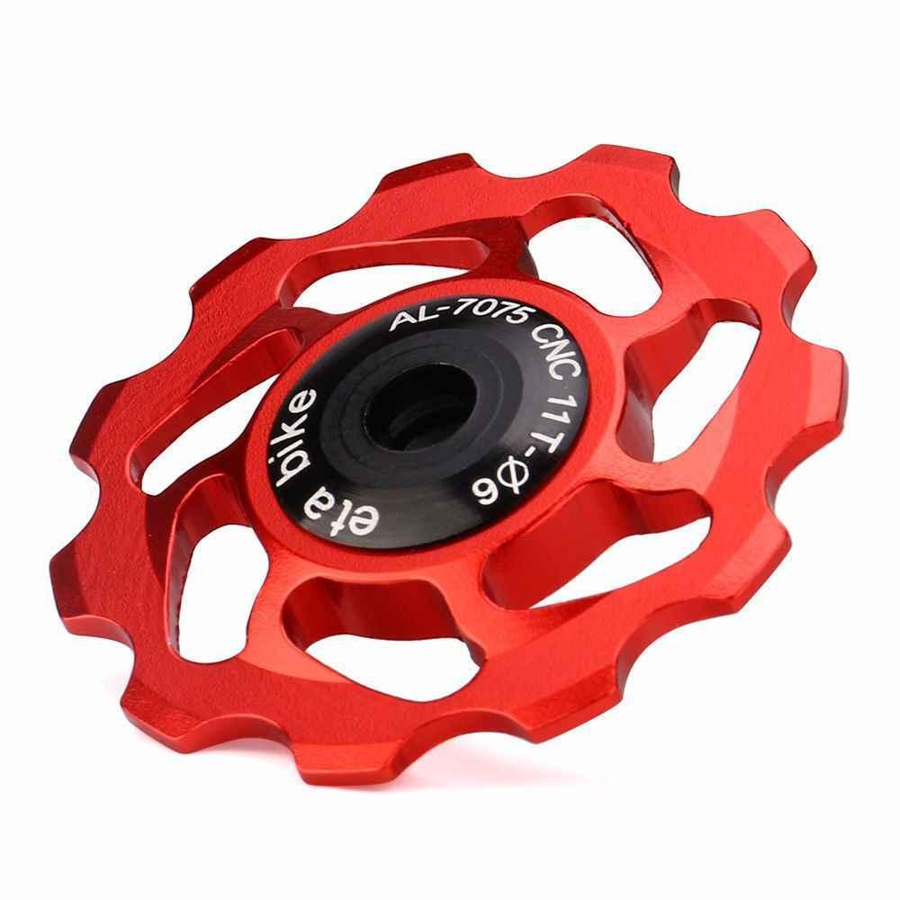 MTB Road Bicycle Derailleur Jockey Wheel Pulley Bearing Mounting Accessories AL