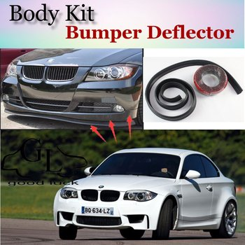 Bumper Lip Lips For BMW 1 M1 E81 E82 E87 E88 F20 F21 / Top Gear Shop Spoiler For Car Tuning / TOPGEAR Recommend Body Kit + Strip image