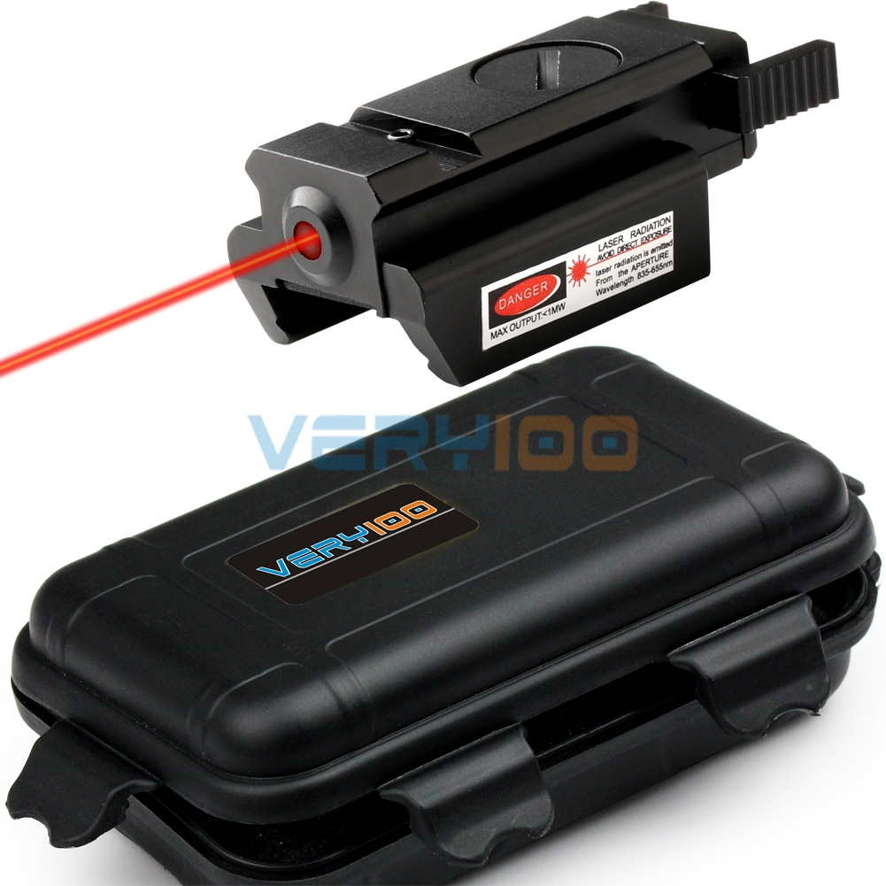 Red Dot Laser Scope Sight Tactical Picatinny Weaver Rail Mount 20mm Pistol Gun Hunting