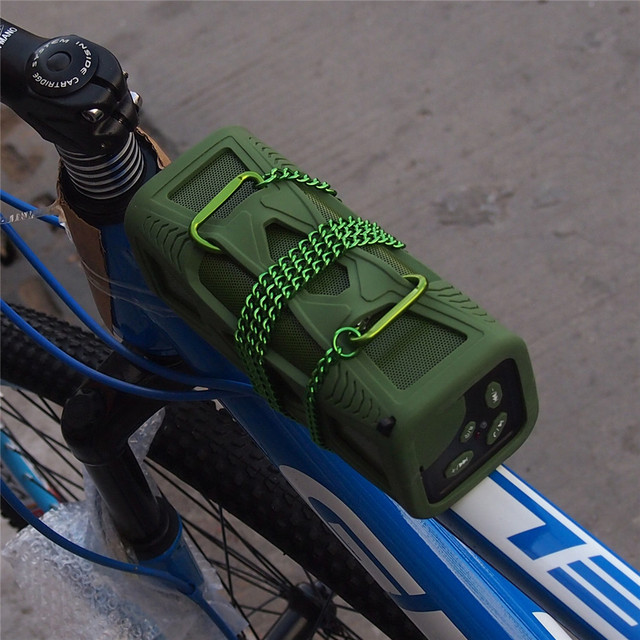 2015 new waterproof portable for bicycle 10W BT4.0 super bass HI-FI for iphone Bluetooth wireless speaker